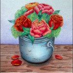 A Pail of Roses