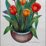 Tulips for Elena